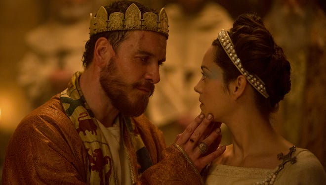 Macbeth (Michael Fassbender) and his wife (Marion Cotillard) scheme for power in the new adaptation of Shakespeare's famed tragedy.