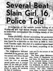 On Oct. 27, 1965 the disturbing details of the crime began to unfold.