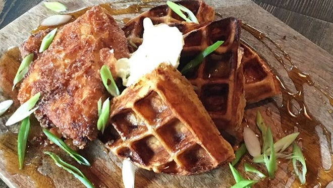 Mighty Quinn's in Paramus offers a new dish, chicken and waffles