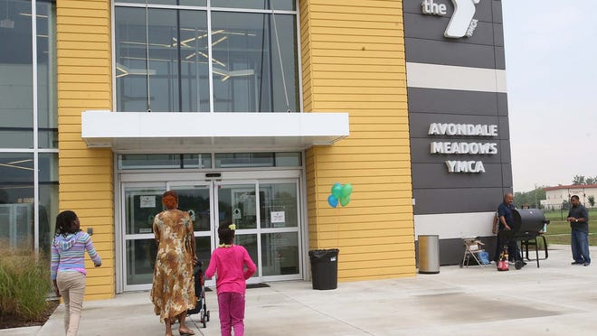 The Avondale Meadows YMCA celebrated its one year anniversary on Aug. 16, 2014.