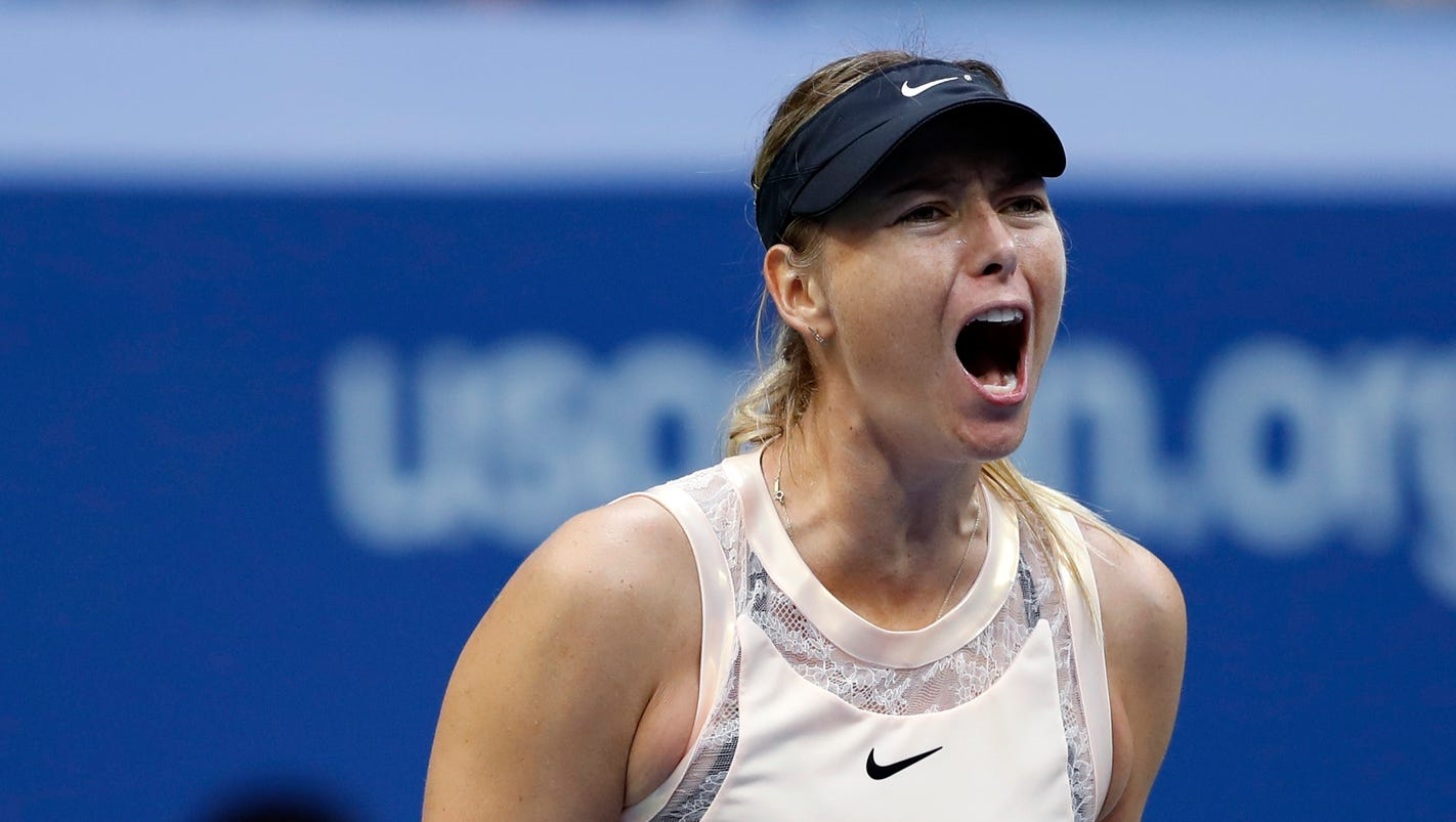 Created At 2017 08 31 1201 Pimped Toyota Quantum Sharapova Overcomes Sloppy Start Wins In Three Sets Us Open
