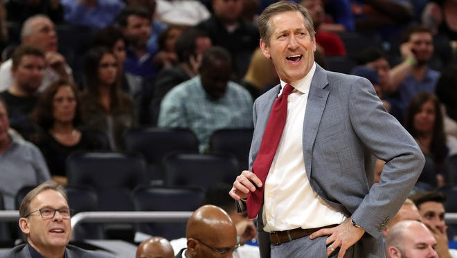 """Knicks coach Jeff Hornacek said his team is still trying to win games and that the NBA's recent efforts to curb """"tanking"""" does not apply to them."""
