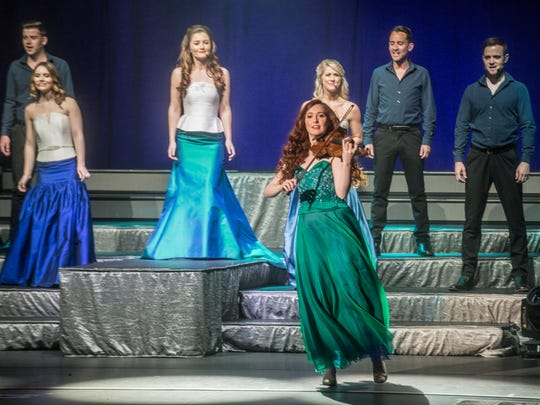 Celtic Woman (seen here performing on May 12 at the