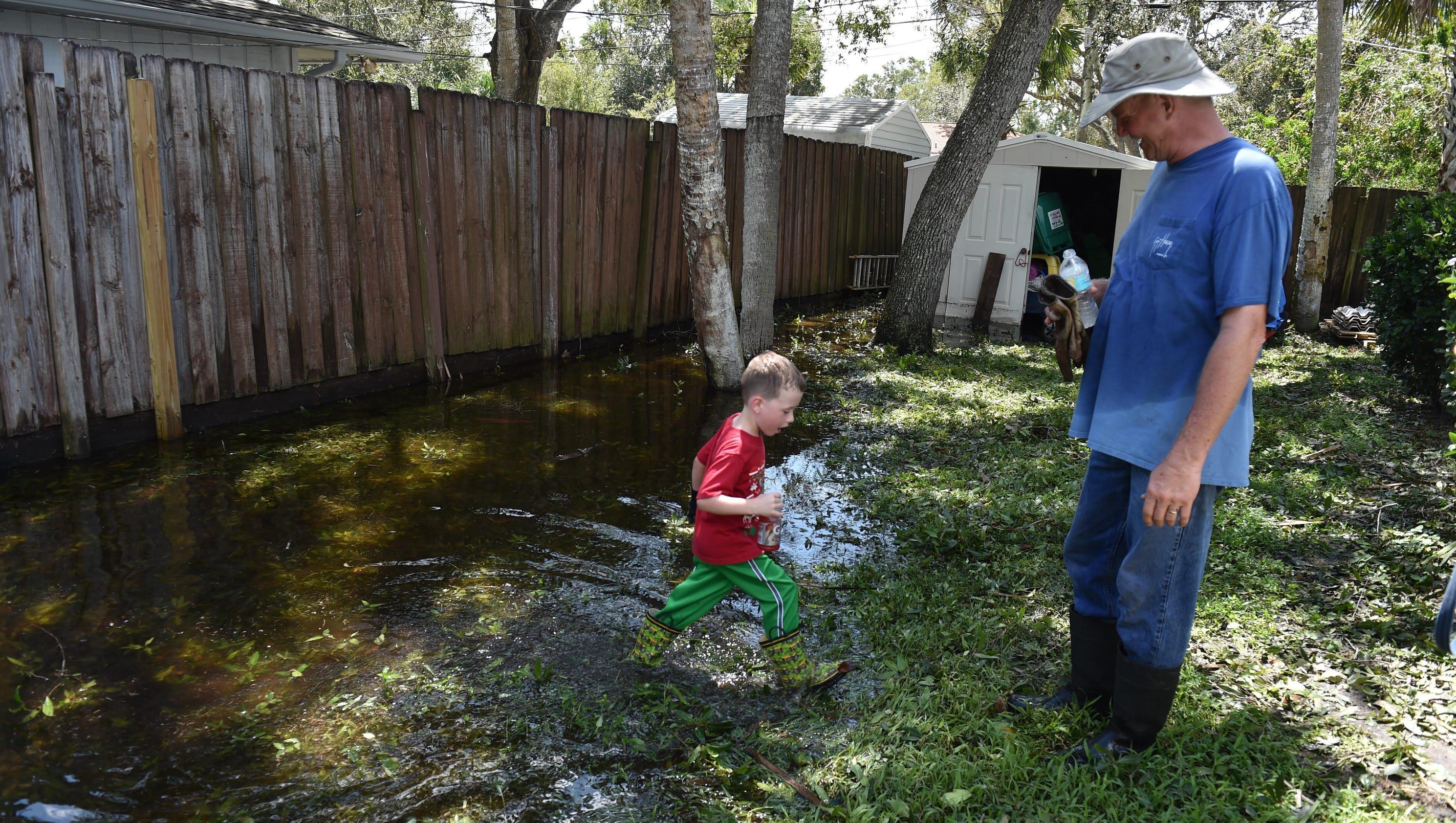 hurricane irma lakewood park neighborhood mostly powerless