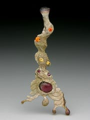 Float cast by metalsmith and jeweler Robbie Curnow