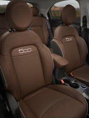 Interior of the Fiat 500X
