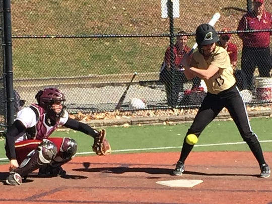 Cedar Grove's Ava Fernandez had the game-winning single to defeat St. Joseph (CT).