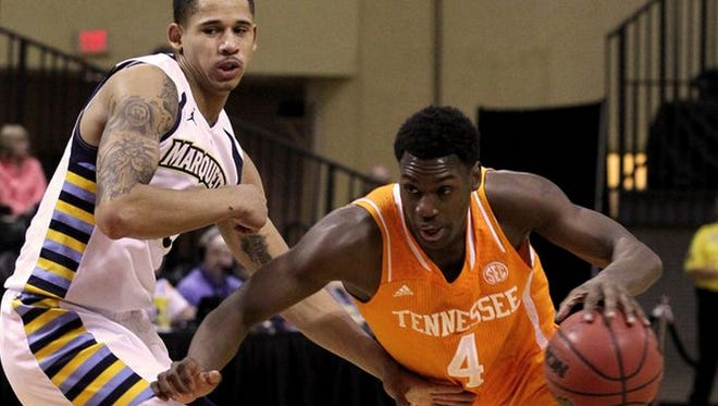 Armani Moore was named the SEC's player of the week Monday.