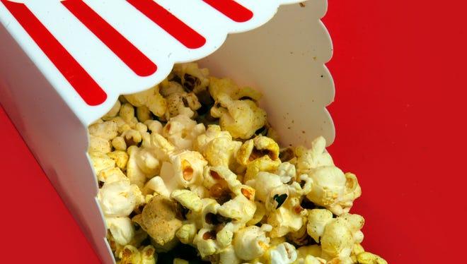 Coconut-curry popcorn.