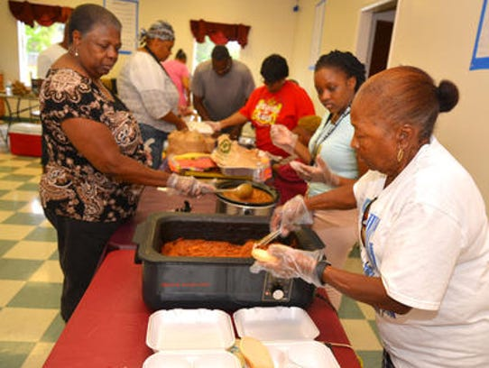 The Community Read and Feed program offers tood – and