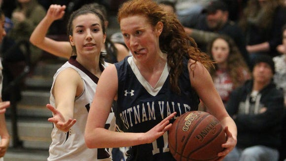 Valhalla beat Putnam Valley 41-40 in a Section 1 Class