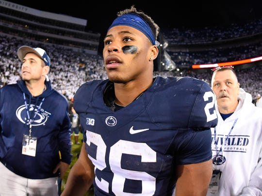 Penn State s Saquon Barkley is going national in 2017 1cccf2b3e