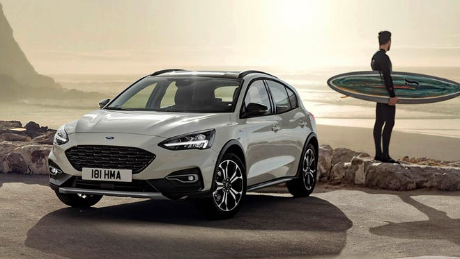 The global Ford Focus, this one for Europe