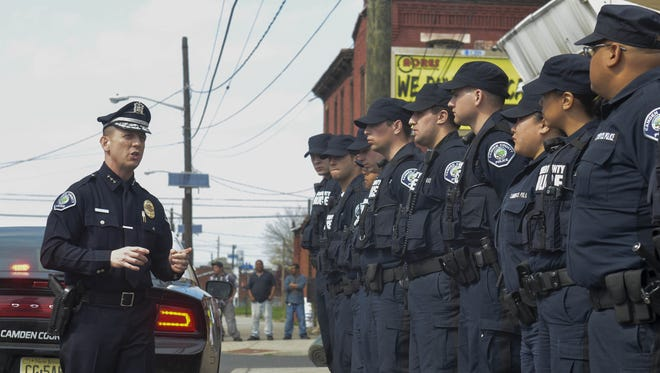 Camden County Police Chief Scott Thomson will discuss leadership at Rutgers-Camden Tuesday.