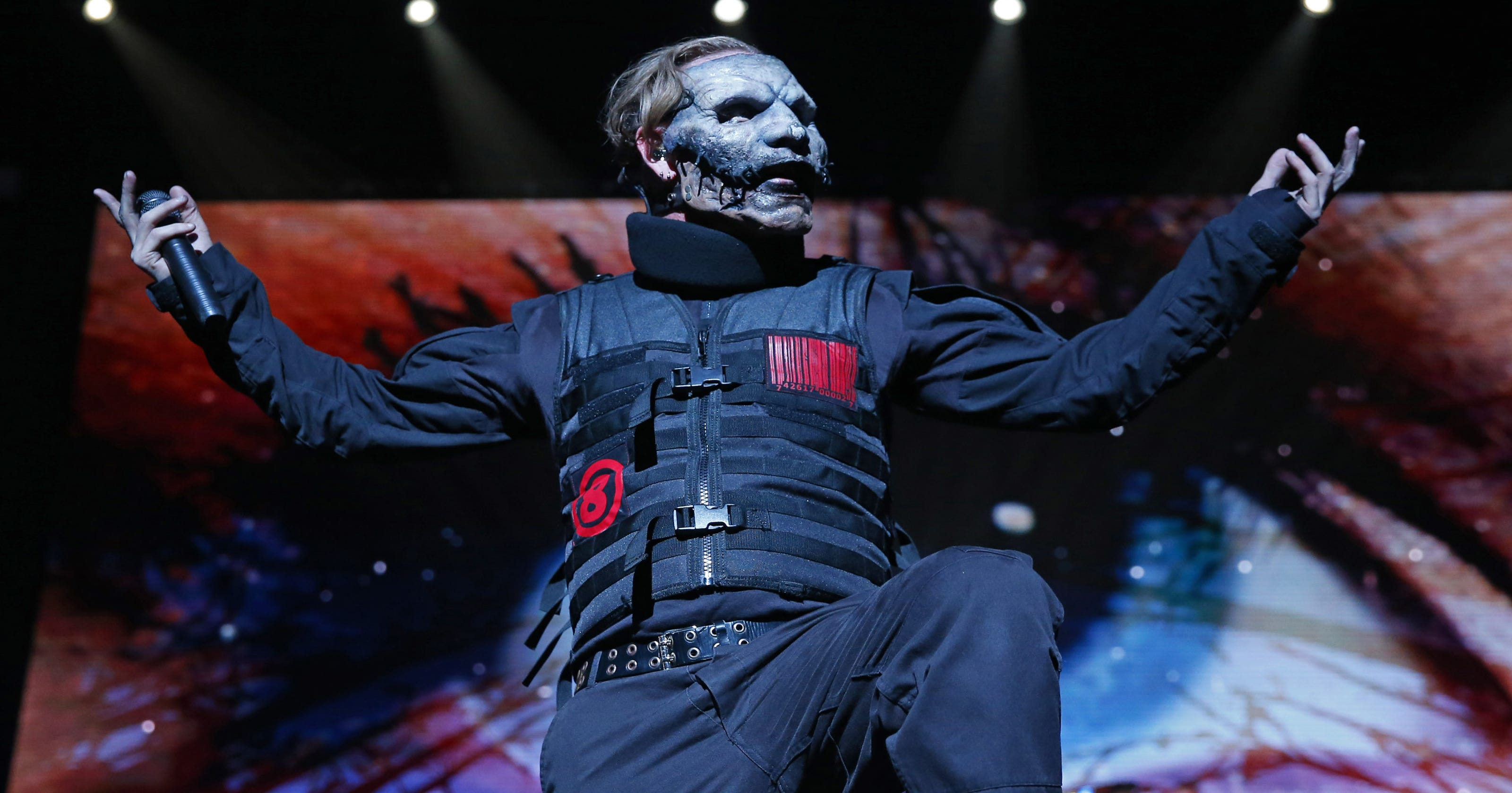 Slipknot's Corey Taylor talks new album, upcoming Iowa State