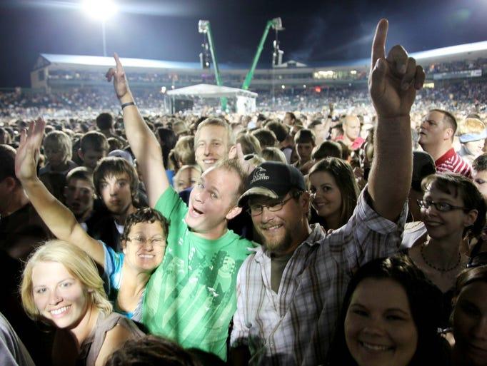 Dave Matthews Band at Principal Park, September 25