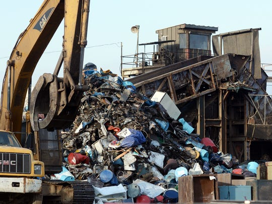 An explosion occurred in a shredder (pictured) at J&K