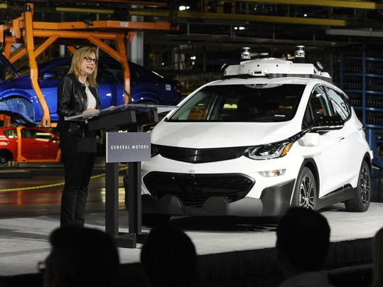 Gm builds 130 automated chevy bolts grows test fleet for General motors suv models