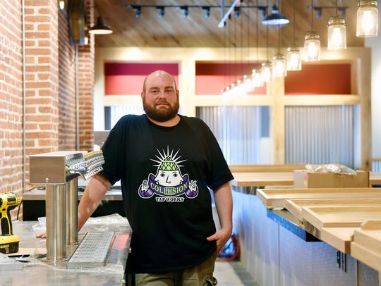 Collusion Tap Works co-owner and head brewer Jared