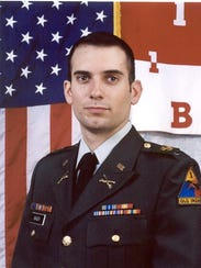 Cpt. Robert Bager, a 2002 graduate of the College at