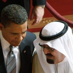 King Abdullah of Saudi Arabia and President Obama in 2009.