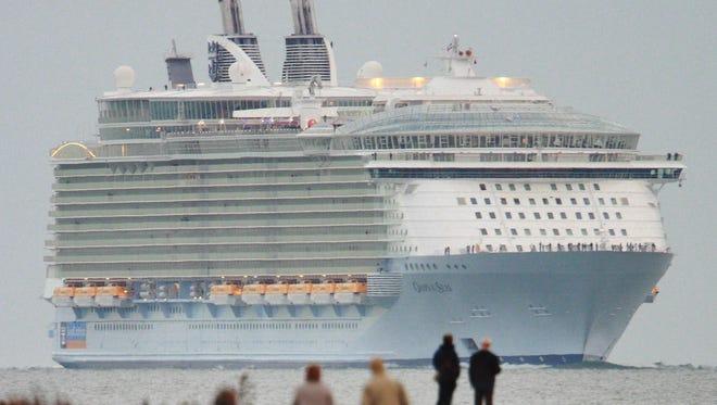 Royal Caribbean's Oasis of the Seas.