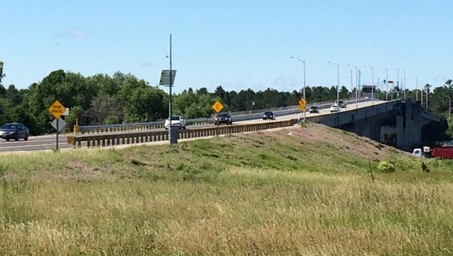 Travelers coming into Door County were able to use the Bayview Bridge for the first time in four months starting Friday morning.