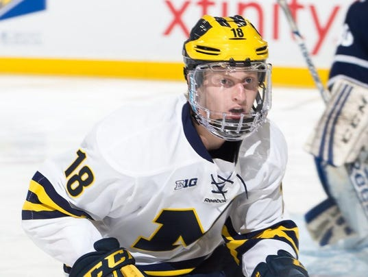 BIG10: Wolverine Frosh Connor A Budding Star, Leads B1G In Points