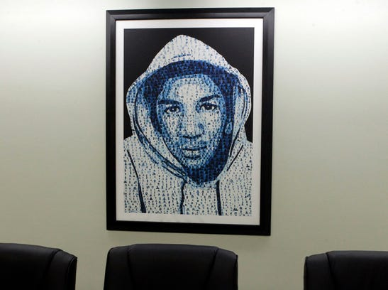 Trayvon Martin photo foundation office