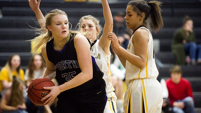 North Henderson's Caroline Marsh is the Western North Carolina Athletic Conference Player of the Year for girls basketball.