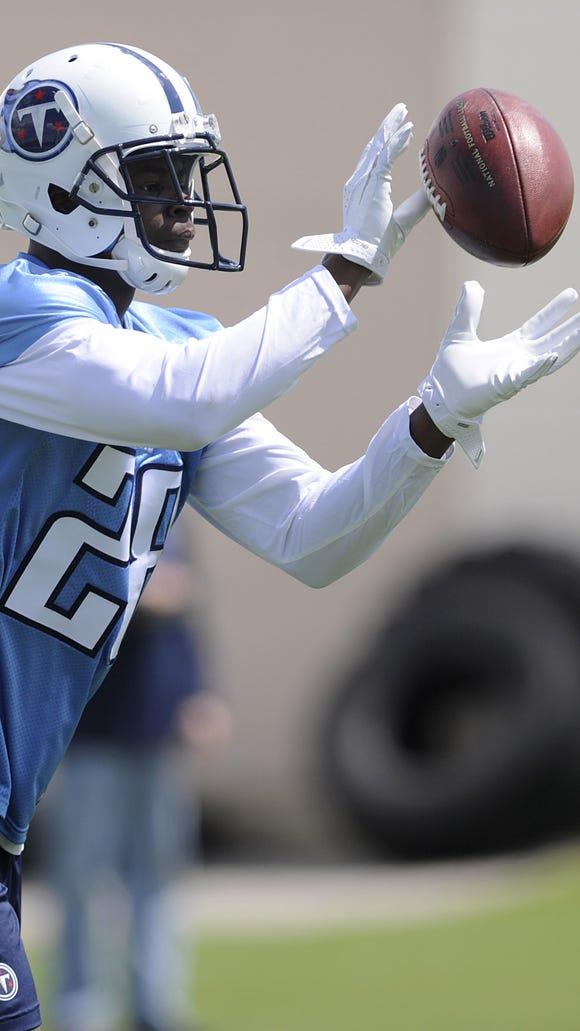 Titans rookie defensive back Marqueston Huff