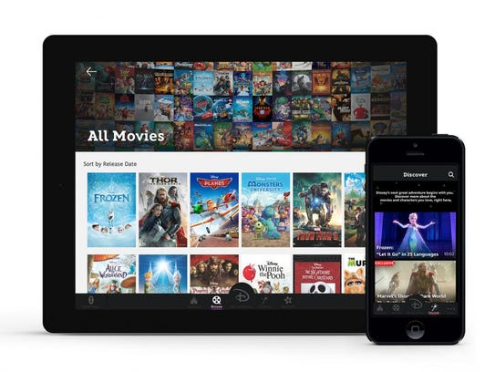 Disney Movies Anywhere lets you access your favorite