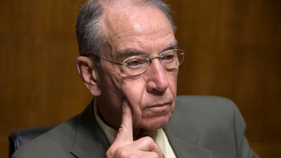 Senate Judiciary Chairman Chuck Grassley, R-Iowa.