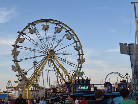Scenes from the Rapides Parish Fair held Thursday, Oct. 13, 2016.