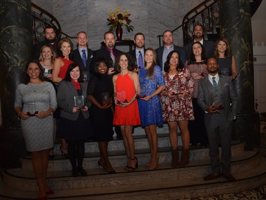 20 Under 40 Awards Gala sponsored by The Town Talk and held at the Hotel Bentley in downtown Alexandria Thursday, Nov. 10, 2016.