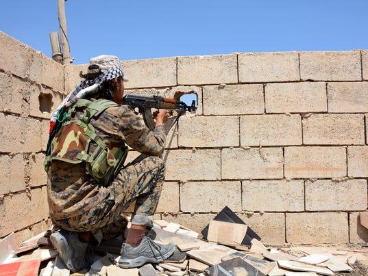 EPA SYRIA CONFLICT IS SDF YPG RAQQA WAR CONFLICTS (GENERAL) WAR SYR