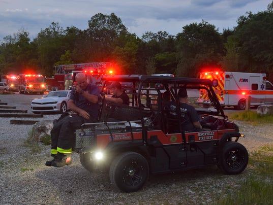 Rescue at Ijams Nature Center