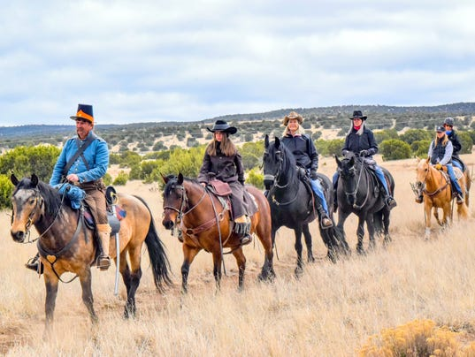 equestrian tour of fort stanton