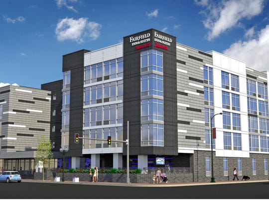 A new Fairfield Inn & Suites will replace the former