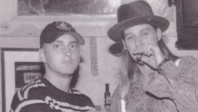 Eminem and Kid Rock