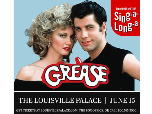 Win a four pack of tickets to Sing-a-ling-a Grease 6/15 at the Palace. Enter 5/17-6/7.