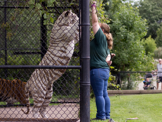 Win this one-of-a-kind zoo experience for four people! Enter 7/1-7/31