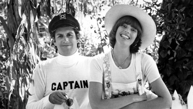 Daryl Dragon and Toni Tennille, circa 1975.