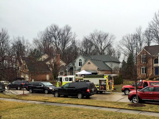 Five people died in a basement fire at a home in a Novi subdivision.