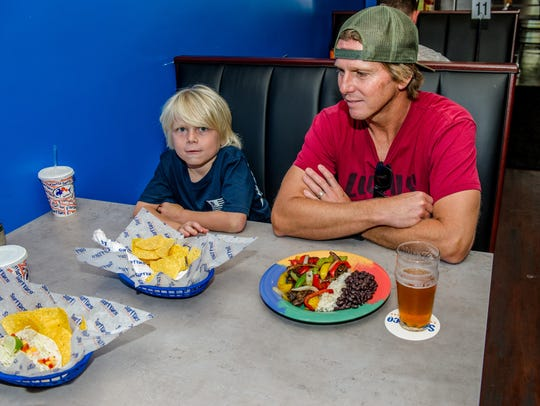 Jimmy Moren, owner of nearby Locals Surf Shop, and