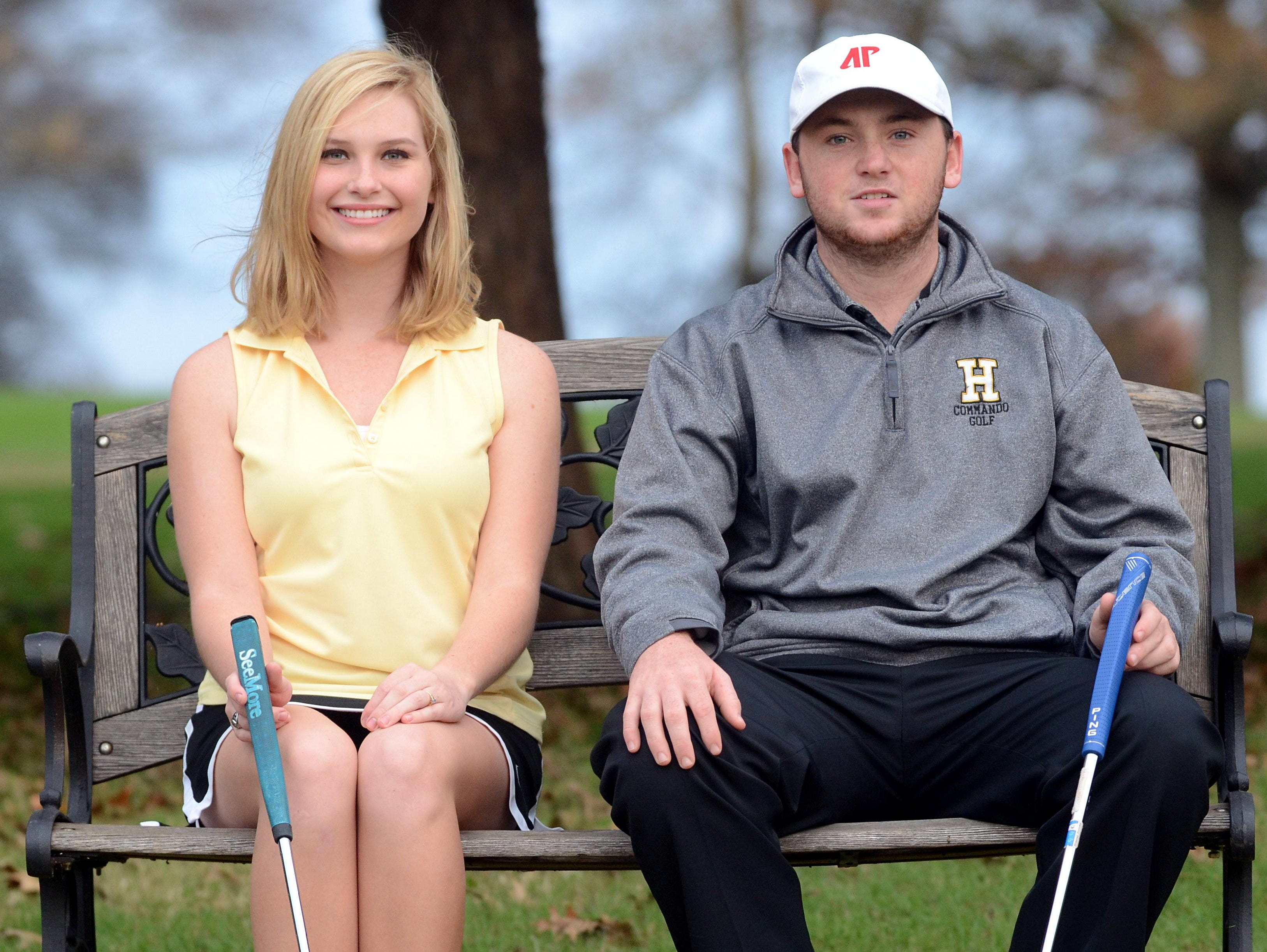 Hendersonville High senior golfers Meghann Stamps and Austin Lancaster have each signed a letter-of-intent to continue their playing career at Austin Peay State University.
