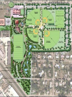 The city of Stuart wants to add a baseball field and a multipurpose field, for soccer and football, to the 10th Street Recreation Center.