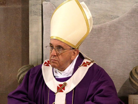 AP Italy Pope Ash Wednesday