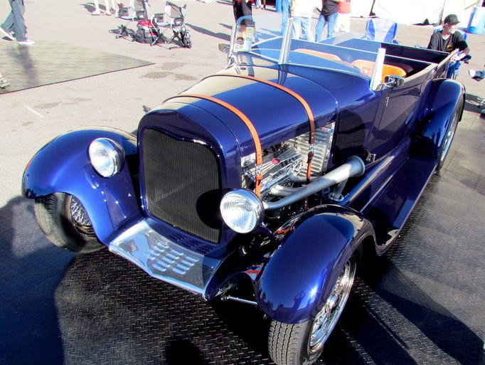 Art Varrath's 1929 Ford Model A roadster pickup was