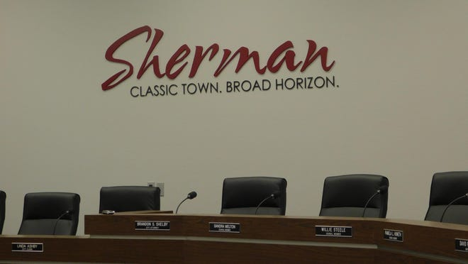 The city of Sherman is proposing a property tax rate  0.489 per $100 of valuation for the upcoming Fiscal year.